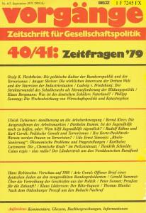 Vorgänge_Zeitschrift